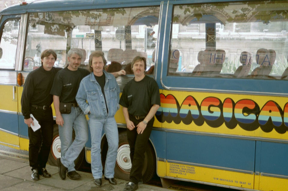 auf Magical Mystery Tour in Liverpool